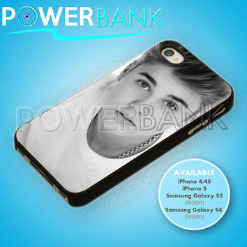 Justin Bieber Cool Pose - iPhone 4/4s/5 Case - Samsung Galaxy S3/S4 Case - Black or White