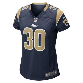Nike NFL St. Louis Rams (Todd Gurley) Women's Football Home Game Jersey