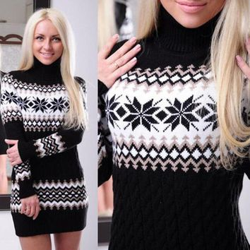 Women's Fashion Print Sweater [22394535962]