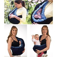 New Cotton Front Carry One Shoulder Supplies Baby Products Backpack Wrap Bag CarrierStretch