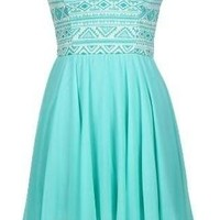The Mint Sweetheart Tribal Dress - 29 N Under
