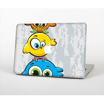 The Tower of Highlighted Cartoon Birds Skin Set for the Apple MacBook Pro 13""