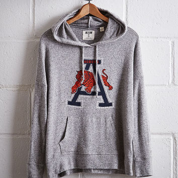 Tailgate Women's Auburn Plush Hoodie, Gray Heather