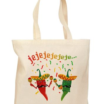 Jejeje Mexican Chili Peppers Grocery Tote Bag