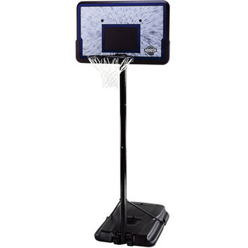 "44"" Portable Adjustable Height Basketball System, with Backboard"
