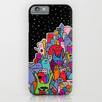 Pile of Monsters iPhone & iPod Case by Alliedrawsthings | Society6