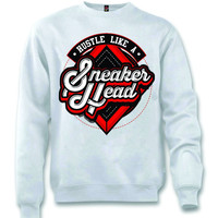 The Fresh I Am Clothing Sneaker White Crewneck