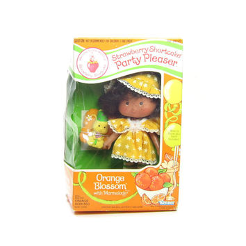 Orange Blossom Party Pleaser Doll Vintage Strawberry Shortcake with Marmalade Butterfly MIB
