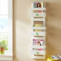 Shell Magazine Rack