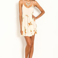 Floral Ruffle Cami Dress - LoveCulture