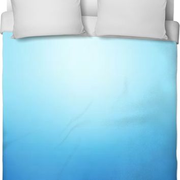 Blue Ombre Duvet Cover