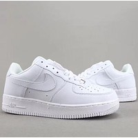 Nike Air Force 1'07 Fashion Women Men Casual Old Skool Low-Top Shoes