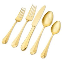 Belvoir Gold 5 Piece Flatware Set - Argent Orfèvres