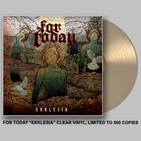 Ekklesia Clear LP : FACE : MerchNOW - Your Favorite Band Merch, Music and More