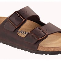 Arizona Soft Footbed Habana Oiled Leather Sandals | Birkenstock USA Official Site