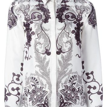 ONETOW Versace Collection paisley style shirt
