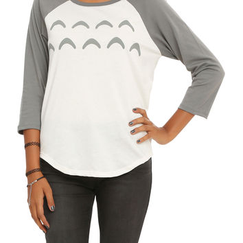 Studio Ghibli Her Universe My Neighbor Totoro Cosplay Girls Raglan