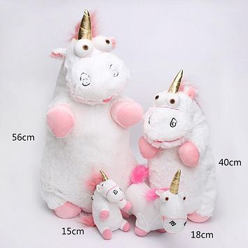 1PCS Lovely Kawaii Plush Stuffed Toy Unicorn Pendant Cuddly Kid Gift Fluffy 56cm Christmas Gift