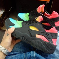 Best Online Sale Nike Air Huarache 1 Multicolor Men Women Hurache Running Sport Casual Shoes Sneakers - 12
