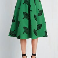 B. Jones Style Skirt in Pine