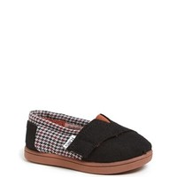 TOMS 'Classic - Tiny' Houndstooth Slip-On (Baby, Walker & Toddler) | Nordstrom