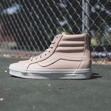 QIYIF VANS UA SK8 HI REISSUE ZIP Veggie Tan Leather