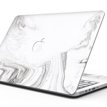 Mixtured Gray 523 Textured Marble - MacBook Pro with Retina Display Full-Coverage Skin Kit
