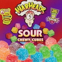 Sweet Factory Online Candy Store | America's Favorite Candy Store Extreme Mega WarHeads Sour Chewy Cubes 2.5 OZ Packs - 15 CT. Case Sweet Factory Online Candy Store | America's Favorite Candy Store