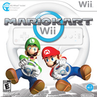 Mario Kart Wii (with Wii Wheel) - Wii (Very Good)