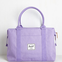 Travel Places to Be Weekend Bag in Lilac by Herschel Supply Co. from ModCloth