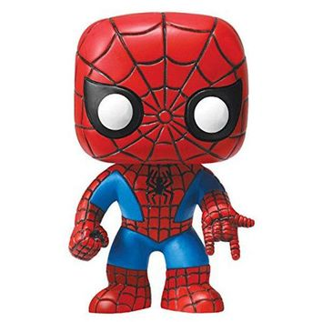 10cm New Funko Pop! Marvel #03 Amazing Spiderman Vinly Figure #03