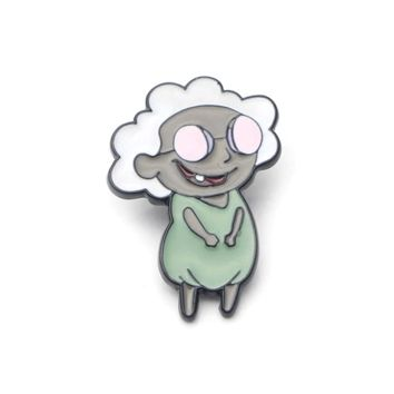 Free Muriel Bagge Courage The Cowardly Dog Cartoon Network Enamel Pin Just Pay Shipping