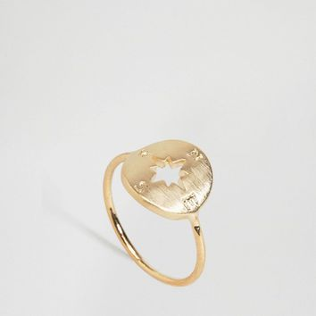Limited Edition Compass Ring at asos.com