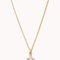 Sea Bound Anchor Necklace