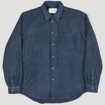 Our Legacy Terry Shirt Navy
