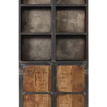 Manchester Cabinet - Industrial Cabinet - Living Room Storage Cabinets - Living Room Cabinets - Reclaimed Wood Furniture | HomeDecorators.com