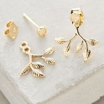 Fairfax Jacket Earrings by Anthropologie in Gold Size: One Size Earrings