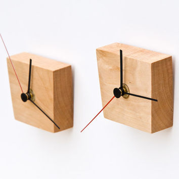 Modern Wall Clock Wood Wall Clock EIKO
