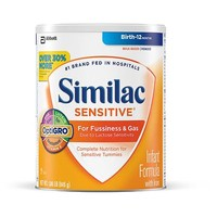 Similac Sensitive Infant Formula with Iron Powder, 1.86lb canister - Walmart.com
