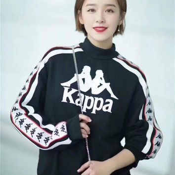 KAPPA Lover Woman Men Casual Round Neck Top Sweater Pullover