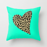 Wild Love Throw Pillow by M Studio