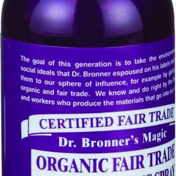 Dr. Bronner's Fair Trade And Organic Hand Sanitizing Spray - Lavender - 2 Oz - Case Of 12  10% Off Auto renew
