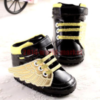 Newborn Baby Shoes Soft Sole Baby Boys Girls Lovely Sneakers Shoe 0-6 Months #BB