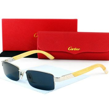 Cartier Women Fashion Sun Shades Eyeglasses Glasses Sunglasses