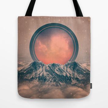 To Rise Again (Solar Eclipse) Tote Bag by Soaring Anchor Designs