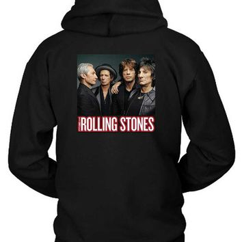 DCCKG72 The Rolling Stones Cover Photo Hoodie Two Sided