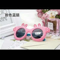 Chinese popular cartoon character Peppa Pig kids plastic sunglasses