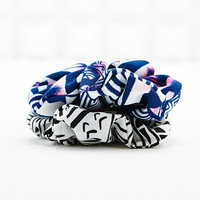 Patterned Mini Scrunchies - Urban Outfitters