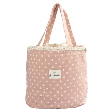 Hot Sale Thermal Insulated Lunch Box Tote Cooler Linen Cotton + Aluminum Bag Bento Pouch Lunch Container For To Work 10Jun 11