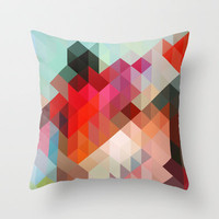 Heavy Words - City 02. Throw Pillow by Three of the Possessed